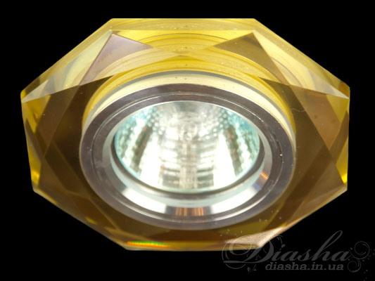 Новая серия точечных светильников представленная в этом сезоне способна обеспечить Вам комфотр на уровне, который превышает все Ваши ожидания.  В данном модельном ряду, представлены точечные светильники объединившие в себе главные качества современных точечных светильников - равномерное освещение с возможностью акцентирования определенных деталей интерьера, с изящностью, элегантностью и неповторимым блеском классических люстр.  Для оптовых покупателей отпускается только ящиками по 50шт  Лампа и трансформатор в комплект не входят