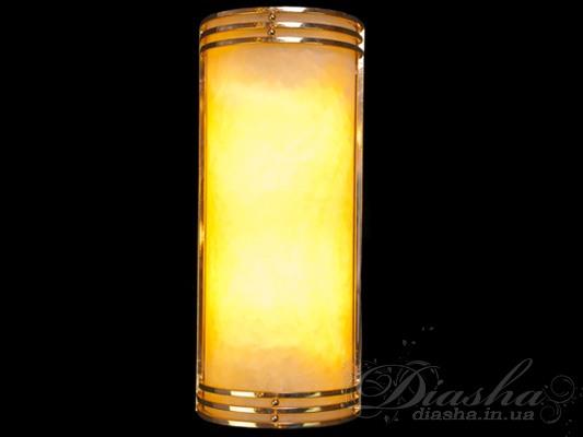 Светильник из ониксаСветильники из натурального камня, Бра классические