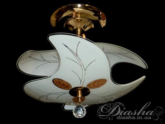 Потолочная люстра под обычную лампуНедорогие люстры, Русский стиль