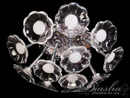 Светодиодная люстра с дополнительной подсветкойСветодиодные люстры, Детские, Потолочные, Люстры LED, Поступление 18-10-2015